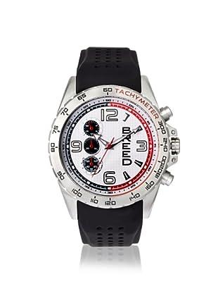 Breed Men's 4401 Touring Black/White Silicone Watch