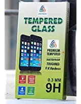 JAIFAON Premium Tempered Glass Explosion Proof Screen Guard for Micromax Canvas 2.2 A114 (Clear)