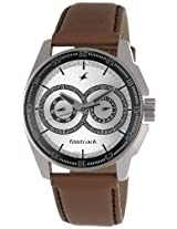 Fastrack Black Magic Analog Silver Dial Men's Watch - NE3089SL07