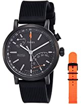 Timex Metropolitan Analog Black Dial Men's Smart Watch - TWG012600AA