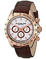 Stuhrling Original Triumph Classic Analog Silver Dial Men's Watch - 564L.03