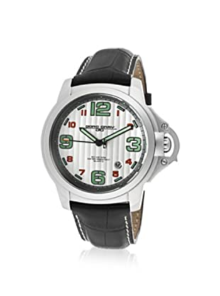 Jorg Gray Men's JG1850-26 Black/Silver Leather Watch
