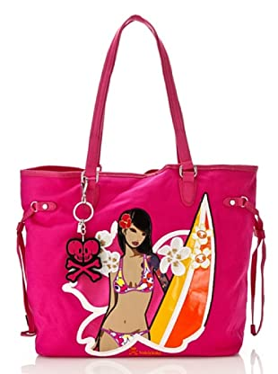 Tokidoki Shopping Bag Waimea pink