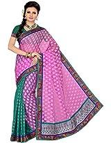 Aadarshini Women's Raw Silk Saree (110000000246)