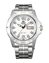Orient Analogue White Dial Men Watch - (EM7L005W)