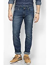 Indigo Regular Fit Jeans (Rockville) Wrangler