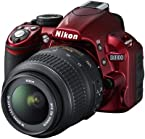 Nikon Camera DSLR D3100 Red with AF-S 18-55mm VR lens