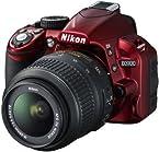 Nikon Camera DSLR D3100 Red with AF-S 18-55mm VR lens