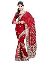 Chandra Silk Mills Saree (CH515_Maroon)