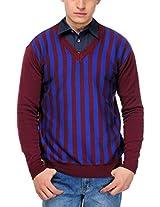 Yepme Men's Cotton Sweater (YPMSWEATER0013_Multi-Coloured_Small)