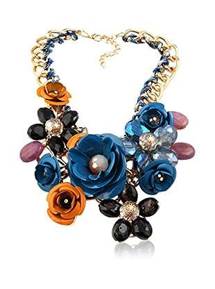 Chamay Collar  Azul / Naranja