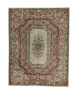 L'Eden del Tappeto Teppich Peshawar mausgrau/rosa 258t x t203 cm