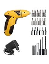 4.8V Cordless Screw Driver & Drill with 24 bits