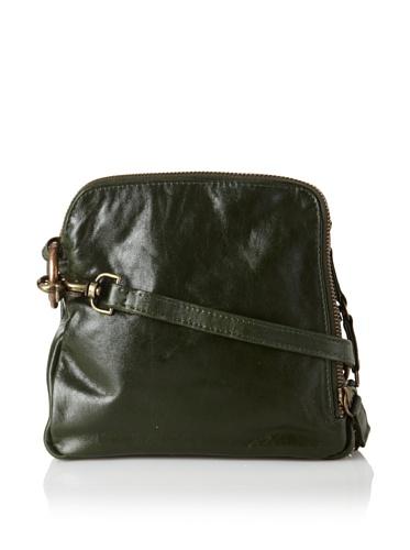 Latico Women's Beulah Triple-Compartment Convertible Shoulder Bag (Forest)