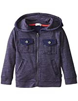 Splendid Little Boys' Long Sleeve Zip Front Hoodie Toddler