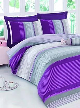 Colors Couture Bettdecke und Kissenbezug Valentina