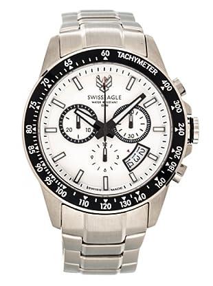 Swiss Eagle Reloj Field Battalion blanco