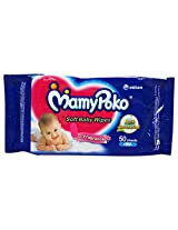 Mamy Poko Soft Baby Wipes with Fragrance (52 Sheets)