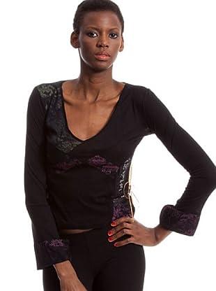 Custo Camiseta Nub Kioshu (Negro)