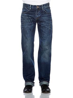 Cross Jeans Herren Jeans (Dunkelblau)