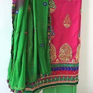 Fashioniista Punjabi Kudi Pink - Dress Material