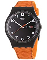 Swatch Originals Faux Fox Black Dial Unisex Watch SUOB709