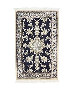 L'EDEN DEL TAPPETO Alfombra Nain K Hielo/Azul 58 x 88 cm