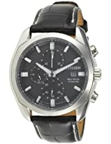 Citizen Eco-Drive Analog Black Dial Men's Watch - CA0021-02E
