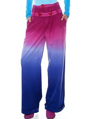 Agatha Ruiz de La Prada Pantalón degradado (Fucsia / Azul)