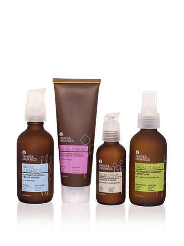 Pangea Organics Everyday Skincare Set for Normal/Combo Skin