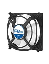 ARCTIC F8 PRO - 80mm Fluid Dynamic Bearing Low Noise Case Fan with Unique Anti-Vibration System