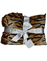 "Pickles 30X40"" Journey Fleece Baby Blanket, Tiger"