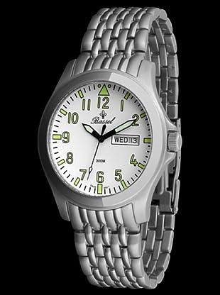 Bassel Reloj CR4029B de Acero blanco