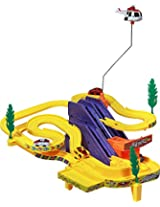 Catterpillar Automatic Track Racer with Hovering & Rotating Helicopter