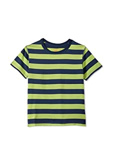 Soft Clothing for Children Boy's Le Havre Short Sleeve Tee (Green)