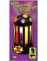 Forum Novelties Rotating Rainbow Disco Party Light