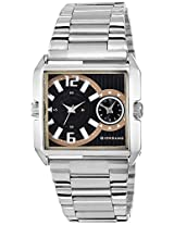 Giordano Analog Black Dial Men's Watch - 1414-44