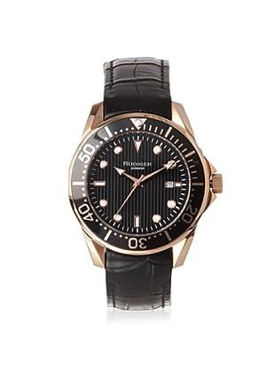 Rudiger Men's R2000-09-007L Chemnitz Rose and Black Luminous Watch