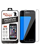 Real Ninja Premium Tempered Glass Screen Protector For Samsung Galaxy S7