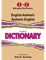 English-Amharic & Amharic-English One-to-One Dictionary: Script & Roman