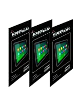 Screenward 3X Clear Screen Protector Scratch Guard For Samsung Galaxy Tab 3 T311 (Pack of 3)
