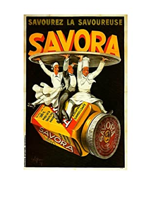 Savora Waiters Giclée Canvas Print