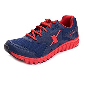 Sparx Men Sports Shoes ( SM-185-BLUE-RED-9 )