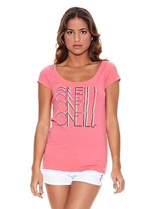 O´Neill T-Shirt Lw Nina S/Slv T (Rosa)