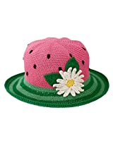 San Diego Hat Little Girls'  Watermellon Crochet Hat