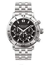 Giordano Chronograph Black Dial Men's Watch - P165-11