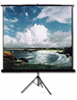 Inlight Two Tripod Type Projector Screen, Size: - 10X8 Ft.(IN IMPORTED HIGH GAIN FABRIC, A+++++ GRADE)