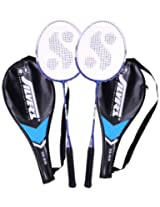 Silver's Sb-818 Badminton Racquet, 2 pieces with cover