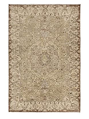 eCarpet Gallery One-of-a-Kind Hand-Knotted Anatolian Rug, Cream/Yellow, 6' 2