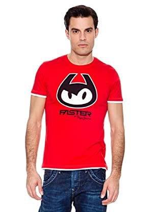 Pepe Jeans T-Shirt Cat (Rot)